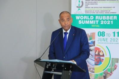 Côte d'Ivoire :  Transformation du caoutchouc, Patrick Achi fait la cour aux investisseurs nationaux et internationaux