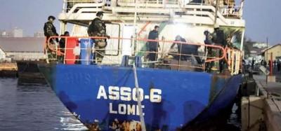 Sénégal-Togo :  Saisie à Dakar d'un navire de cannabis battant pavillon togolais en r...