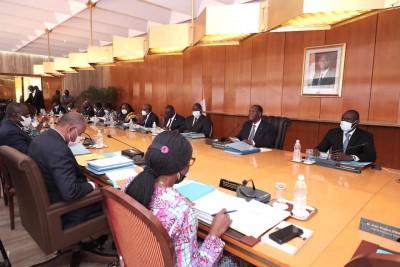 Côte d'Ivoire : Communiqué du Conseil des Ministres du mercredi 09 juin 2021