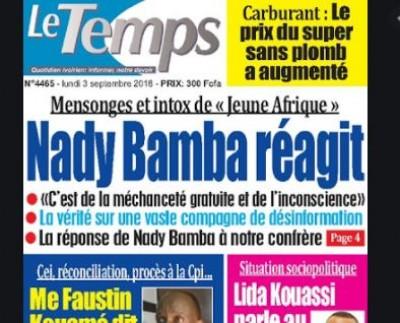Côte d'Ivoire : L'ANP suspend le quotidien  pro Gbagbo « Le Temps » pour « manipulation » de l'information