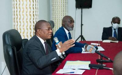 Côte d'Ivoire : Visite de travail à la Mairie de Cocody, Bruno Koné et Jean-Marc Yacé s'accordent pour la résolution des problèmes identifiés dans la commune