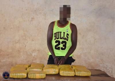 Burkina Faso : Un trafiquant de drogue arrêté avec 12 kg de cannabis