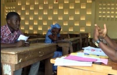 Côte d'Ivoire : Oral du BEPC, un examinateur exigerait la somme de 2000 FCFA aux candidats