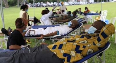 Côte d'Ivoire : Don du sang, Bolloré sonne la mobilisation à Abidjan avec plus de 400 de ses employés