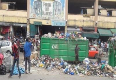 Cote d'Ivoire : Retour des ordures dans les rues d'Adjamé, la Mairie rejette toute re...