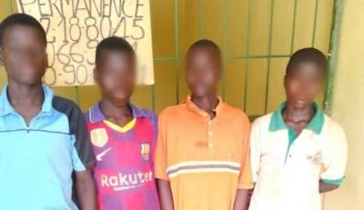 Côte d'Ivoire : Lutte contre le travail des enfants, la Police intercepte des enfants...