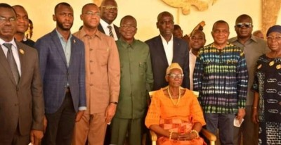 Côte d'Ivoire : Aux côtés d'Ahoussou à Sakassou, le maire Kouamé Eugène a-t-il viré au RHDP ? un cadre du PDCI « déçu » par Bédié