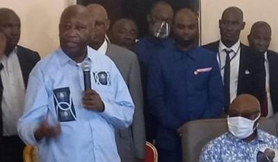 Côte d'Ivoire : Gbagbo heureux, de retrouver son Pays, rend hommage à sa mère, Sangar...