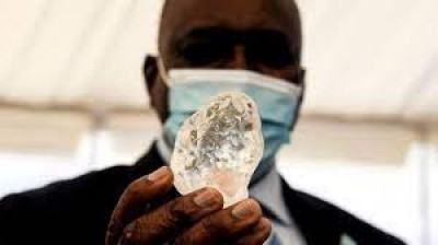 Botswana : Découverte du troisième plus gros diamant au monde