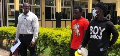 Ghana :  Arrestation de trois jeunes brandissant des armes dans une vidéo
