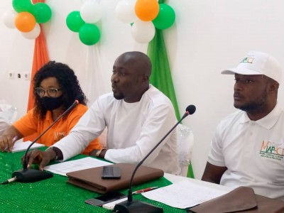 Côte d'Ivoire : Depuis Cocody, des jeunes invitent les acteurs politiques à mettre l'...