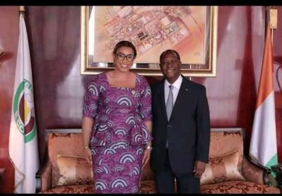 Côte d'Ivoire : Invitant les GOR à mesurer leur propos, la cadette des députés exhort...