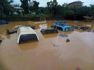 Côte d'Ivoire : San-Pédro, partie uriner sous forte pluie, une fillette emportée par...