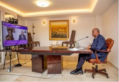 Côte d'Ivoire : Depuis  Abidjan, Patrick Achi parle des  efforts du gouvernement dans l'industrie cacaoyère et de l'ECO  au Forum du Qatar