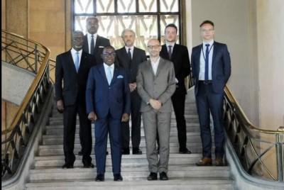 Côte d'Ivoire : CESEC, Aka Aouélé veut renforcer la coopération bilatérale avec Paris