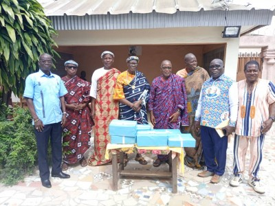Côte d'Ivoire : Afin « de prôner le vivre-ensemble, la paix et la cohésion sociale », des  têtes couronnées du Gbêkê honorées