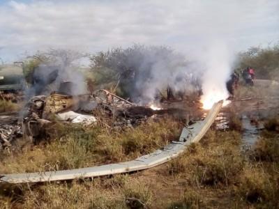 Kenya : 17 soldats périssent dans le crash d'un hélicoptère