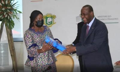 Côte d'Ivoire : Ministère des Affaires Etrangères, qui veut empêcher l'installation d...