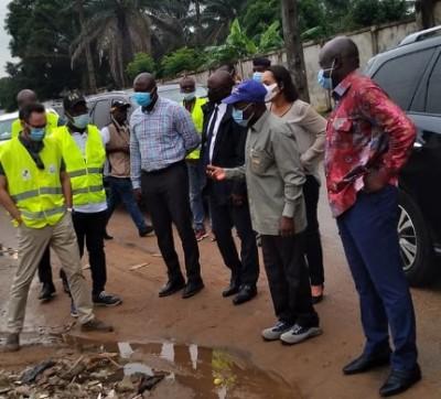 Côte d'Ivoire : Retour des ordures dans les rues, le Ministre Fofana descend sur le terrain et ordonne à Eco Eburnie d'enlever immédiatement  des déchets sur des sites indus