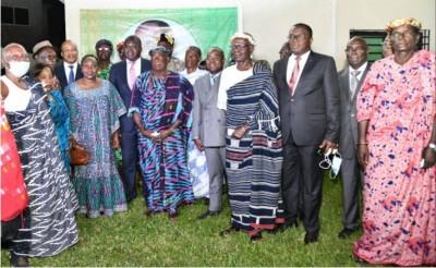 Côte d'Ivoire : Amédé Kouakou invite ses parents à prôner la Cohésion Sociale et  le...