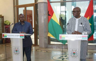 Burkina Faso : Le président bissau-guinéen Umaro Sissoco Embalo exprime sa solidarité après les attaques terroristes