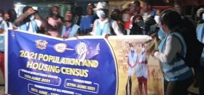 Ghana :  Début du 6e Recensement de la population et de l'habitat