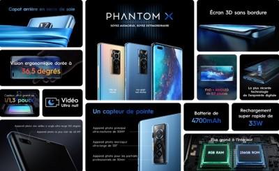 Sortie Officielle : Tecno Mobile se lance dans le TRES haut de gamme avec le PHANTOM X
