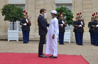 Tchad- France : Emmanuel Macron reçoit à huis clos Mahamat Déby à l'Élysée