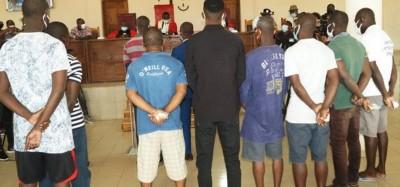 Togo :  Neuf pirates condamnés à Lomé