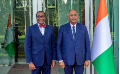 Côte d'Ivoire : La BAD annonce des investissements dans les infrastructures, pour transformer les zones rurales en zones de création de richesse