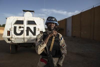 Mali : Sept casques bleus de l'ONU blessés dans une explosion