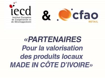 Iced et CFAO Retail partenaires pour la valorisation des produits locaux Made in Côte d'Ivoire