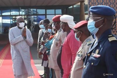 Burkina Faso : Le président Kaboré à Abidjan pour une réunion de haut niveau