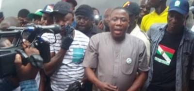 Nigeria :  Le fer de lance de l'Etat Yoruba, Sunday Igboho, recherché