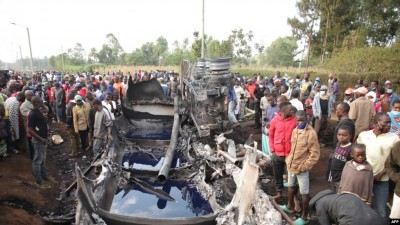 Kenya : 13 personnes meurent en tentant de piller du carburant d'un  camion accidenté