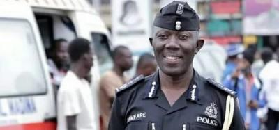 Ghana : Particularités du nouvel IGP, Akuffo Dampare, nommé à la tête de la police