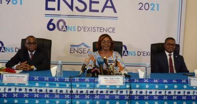 Côte d'Ivoire :   Soixantenaire de l'ENSEA, Achi parrain de la cérémonie de diplomation des étudiants de la promotion 2021 prévue le 05 août 2021