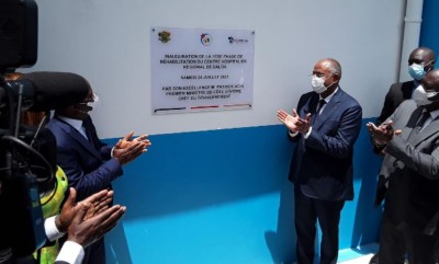 Côte d'Ivoire : Patrick Achi inaugure la phase 1 des travaux de réhabilitation du CHR...