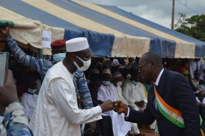 Côte d'Ivoire :    Depuis Bouandougou dans le Béré, Moussa Sanogo demande aux cadres...