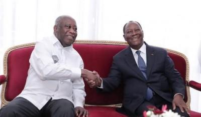 Côte d'Ivoire :  Alassane Ouattara reçoit un Laurent Gbagbo qui appelle à la libération des condamnés de la crise post-électorale de 2011