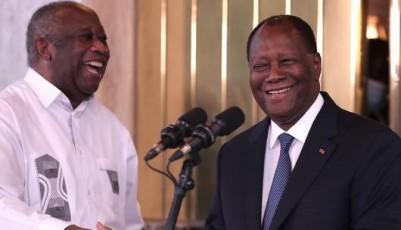 Côte d'Ivoire :    Ouattara aux côtés de Gbagbo veut ranger les vieux démons et avancer