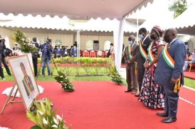 Côte d'Ivoire :  Décédé le 16 juillet dernier à Paris, le Sénat rend un dernier hommage à Charles Providence GOMIS avant son inhumation le 29 juillet prochain