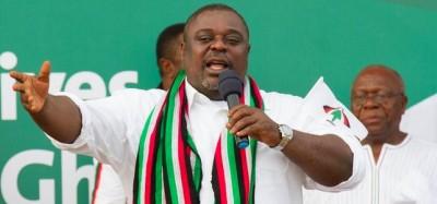 Ghana :  Le frondeur Koku Anyidoho débarqué du NDC