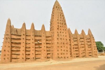 Côte d'Ivoire : Des mosquées de style soudanais situées dans le nord inscrites sur la...