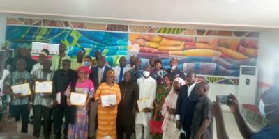 Côte d'Ivoire : La centrale des commerçants FENACCI met en place sur place une commis...