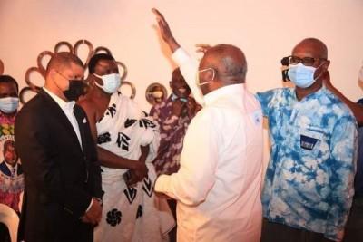 Côte d'Ivoire : Depuis son QG de campagne, Gbagbo félicite les membres du comité char...
