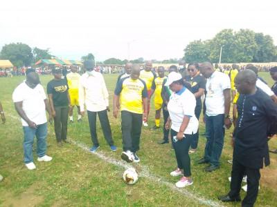 Côte d'Ivoire : Pour « recoller les morceaux du tissu social qui ont été fragilisés...», un tournoi réuni les cantons Gblo et Satiklan sous les auspices du DG du trésor