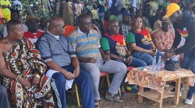 Côte d'Ivoire : Ayamé, en présence du sous-préfet Brou Kakou exhorte les populations...