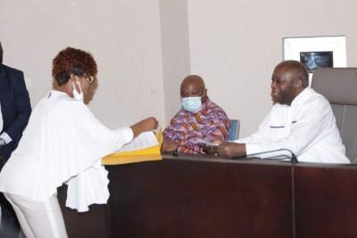 Côte d'Ivoire : Laurent Gbagbo devant les familles des détenus rappelle qu'en 10 ans de pouvoir, aucun homme politique n'a été emprisonné