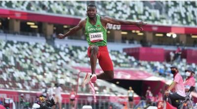 Burkina Faso : Tokyo 2020, médaille de bronze olympique pour Fabrice Zango au triple saut